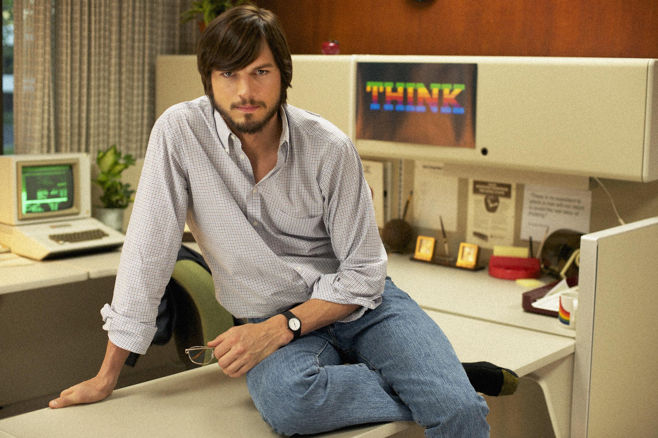jobs get inspired ashton kutcher steve jobs young