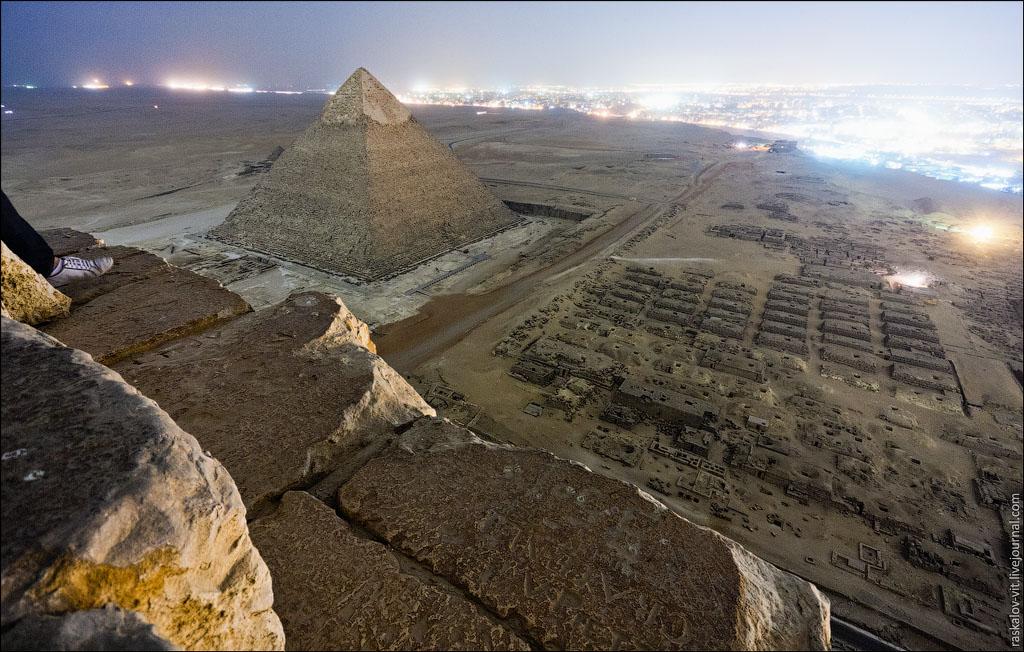 As mais incríveis imagens do topo das Pirâmides do Egito