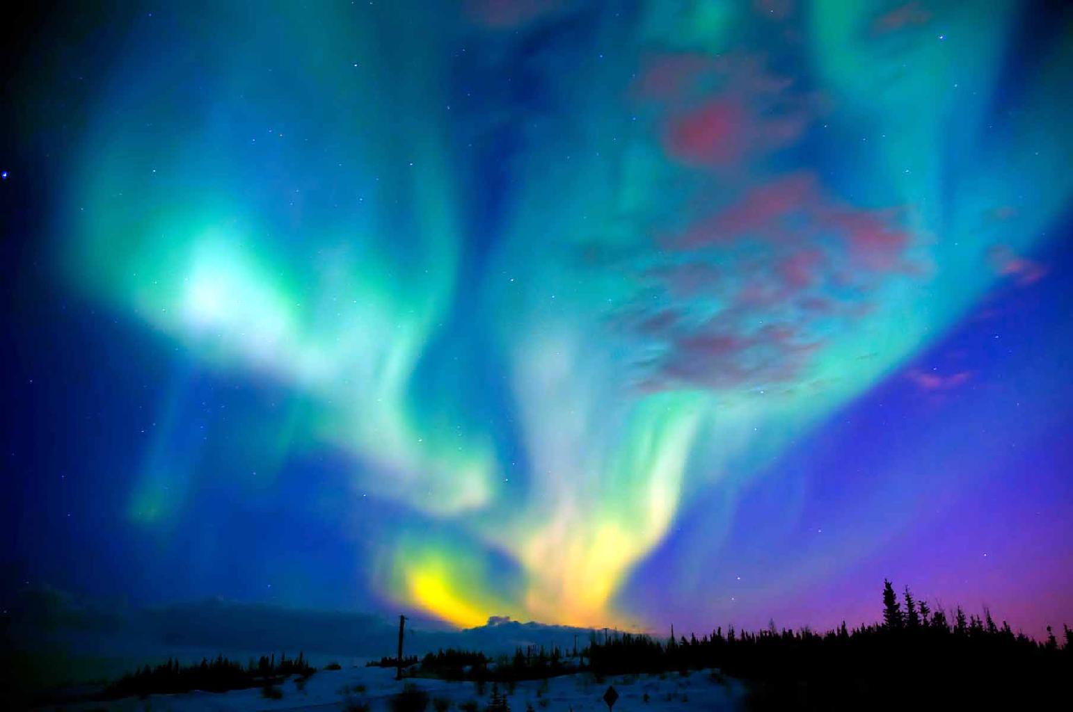Aurora Polar - Contemple esse espetáculo da Natureza