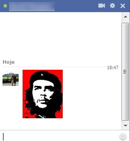 Emoticon grande do Che Guevara