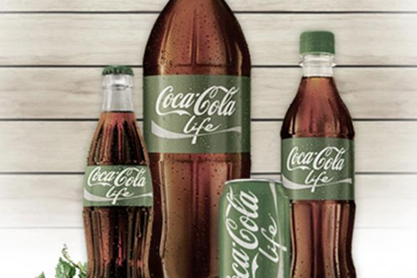 Coca Cola Life, a nova coca cola