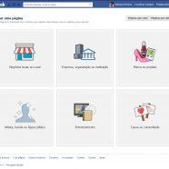 Crie uma Página do Facebook para construir uma relação mais próxima com seu público e seus clientes.