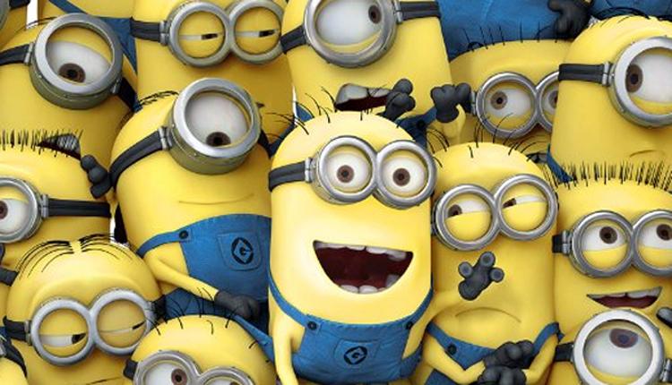 Os Minions são essas criaturinhas amarelas, cilíndricas,, geneticamente humanizados que têm um ou dois olhos e são um dos os personagens mais notáveis ??no filme.