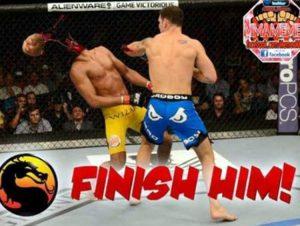 Memes sobre a derrota de Anderson Silva