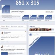 Tamanho das imagens do Facebook- Tudo que você precisa saber