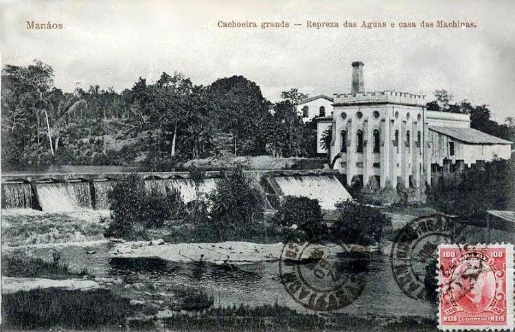 a usina hidrelétrica da Cachoeira Grande, uma das primeiras do País