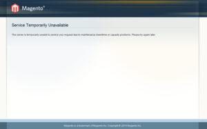 Como Corrigir Erro 503 Service Temporarily Unavailable Do Magento