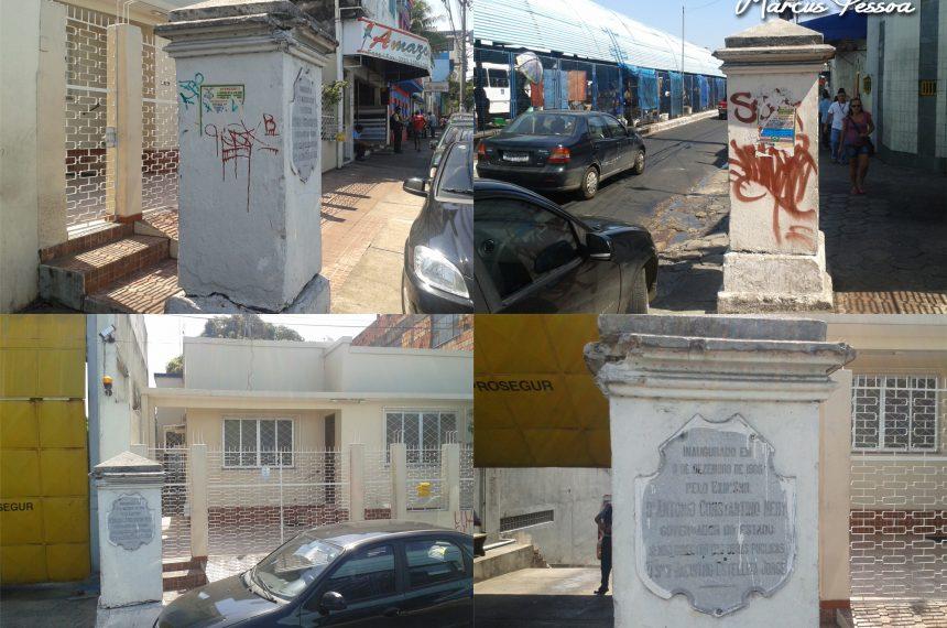 Marco Inaugural da Rua João Coelho (1906), Atual Avenida Constantino Nery.