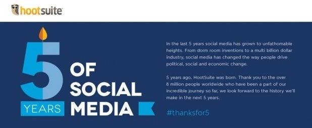 Infográfico - A Evolução das Mídias Sociais