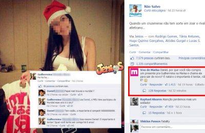 Marisa dá conselho à internauta no Facebook