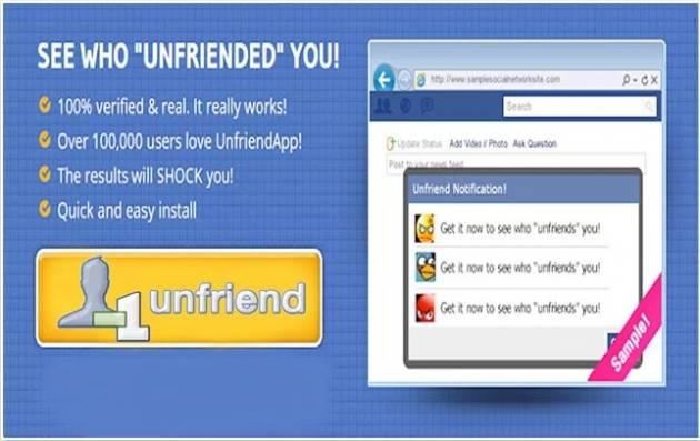 Unfriend Alerts