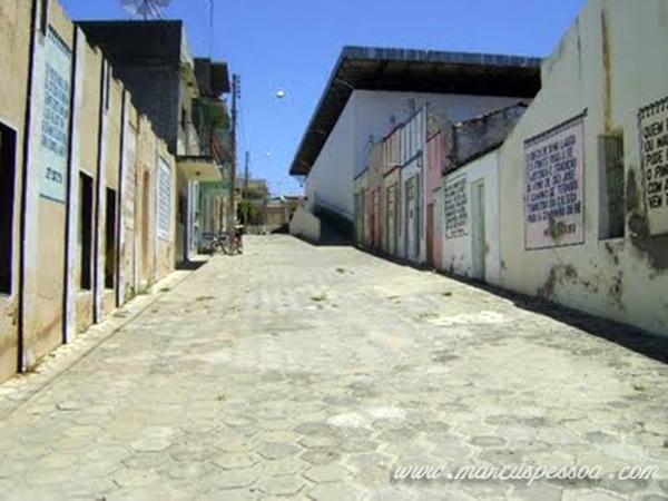 Calçadão Beco de Laura antes da Reforma