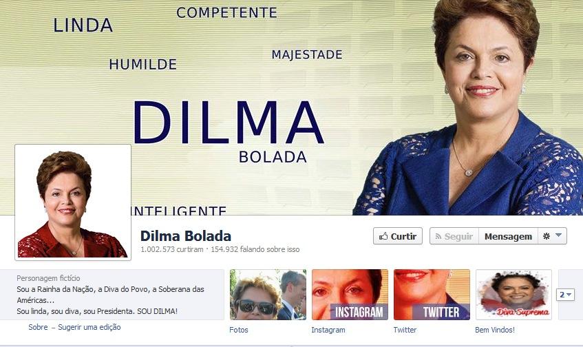 Dilma Bolada pode suspender perfil durante ano eleitoral Jeferson Monteiro planeja não utilizar perfil humorístico durante período de campanha, com ou sem determinação legal.