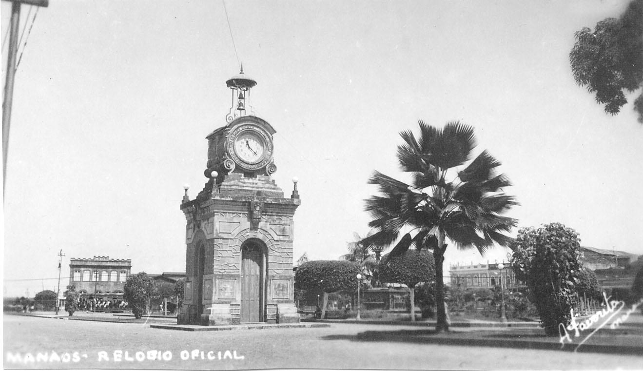 Relógio Municipal de Manaus