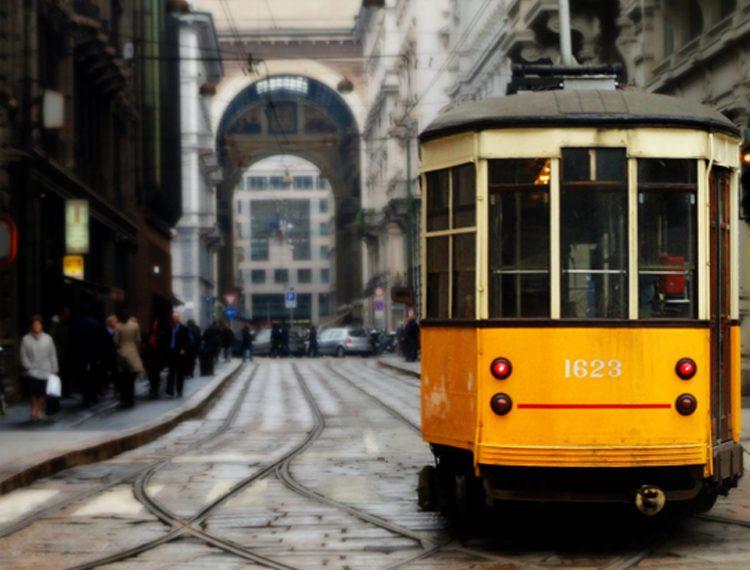 Bonde em Milão