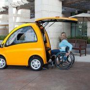 Kenguru - O carro elétrico para motoristas cadeirantes