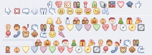 Emoticons do WhatsApp para o Facebook