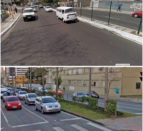 Comparativo entre Manaus e Curitiba