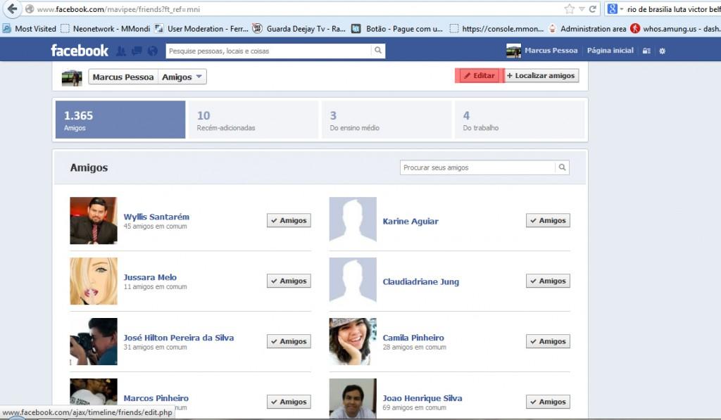 Como ocultar a identidade dos teus amigos do Facebook