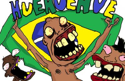 Huehue - símbolo dos brasileiros zueiros na internet
