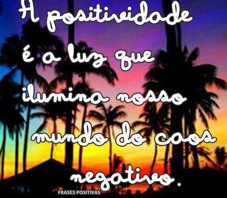 Frases de pensamentos positivos