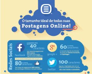 [Infográfico] O Tamanho Ideal para todas suas Postagens Online