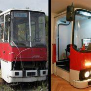 Transformando um ônibus velho num escritório novo