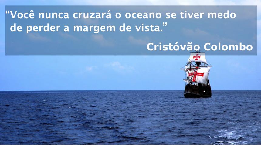 Citação – Cristóvão Colombo