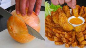 Blooming onion - Cebola tipo outback