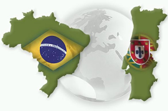 Infográfico Comparativo do Desempenho do Brasil x Portugal