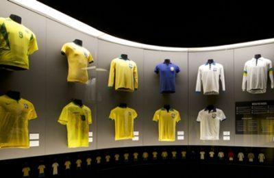 Evolução das camisas da seleção brasileira