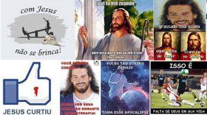 Imagens religiosas engraçadas para respostas no Facebook