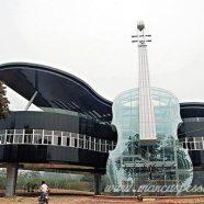 Casa Design Diferente:Casa em Forma de Piano e Violino, Inovação China