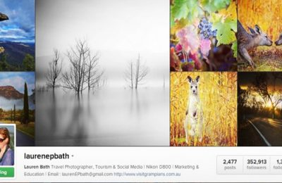 Emprego dos sonhos: viajar, fotografar e postar as fotos no Instagram