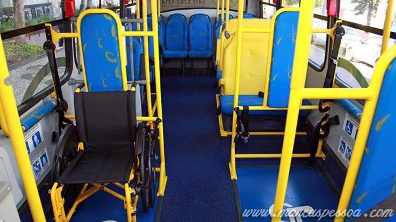 Transporte especial para pessoas com deficiência