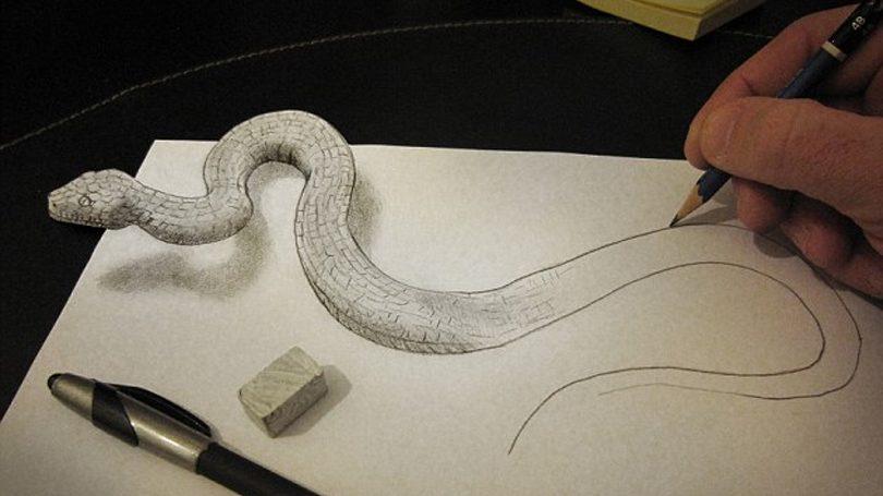 Incríveis desenhos 3D