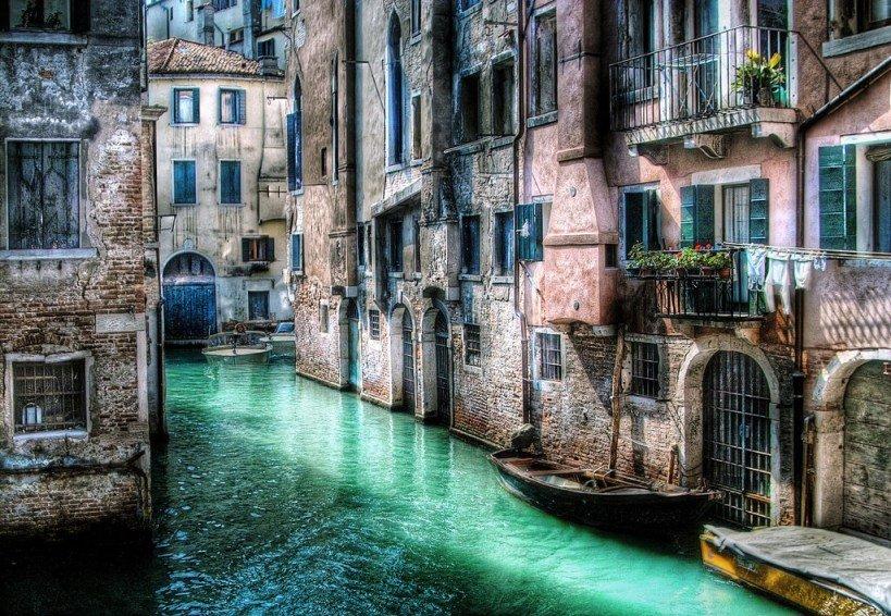 Paisagens de Tirar o Folêgo - Veneza