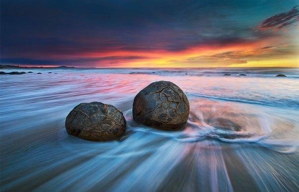 Moeraki Boulders, Nova Zelândia