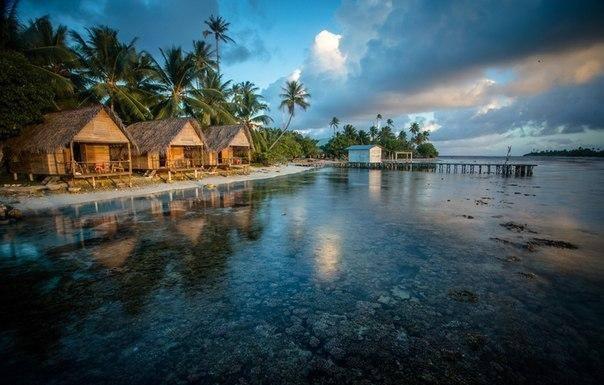 Tetamanu Village, Polinésia Francesa