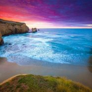 Tunnel Beach, Nova Zelândia