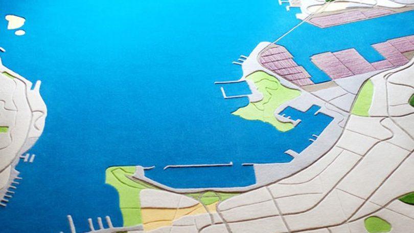 Designer cria tapetes inspirados em paisagens