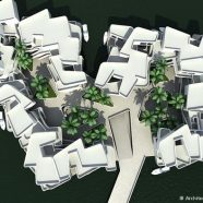 """De Citadel"", primeiro complexo residencial flutuante da Europa, com 60 apartamentos de luxo"