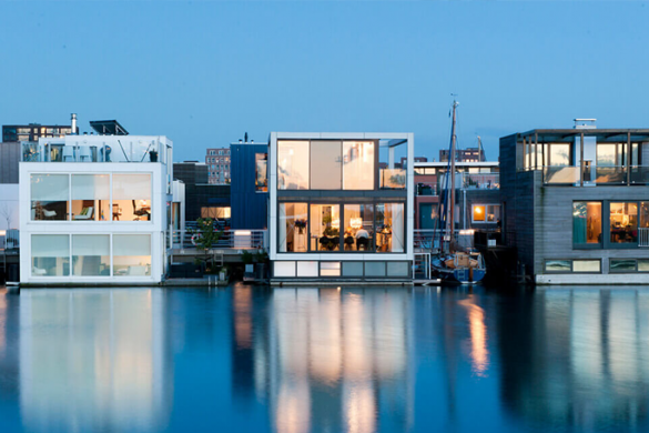 The Floating Houses of IJburg, Amsterdam
