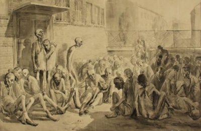 Arte feita por prisioneiros de Auschwitz durante e depois do Holocausto