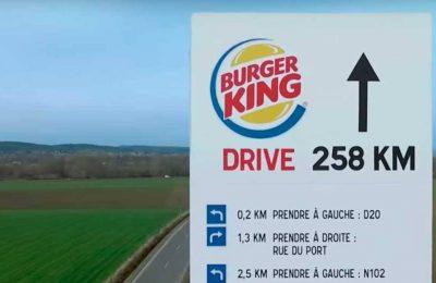 McDonald's mostra como chegar ao Burger King mais próximo, e rival respondeu com filme irônico e divertido
