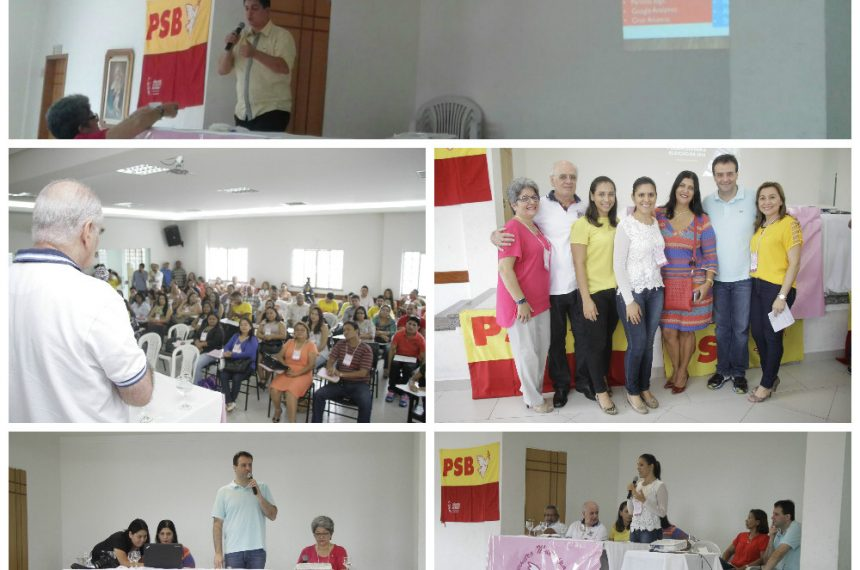 Palestra durante o Encontro de Mulheres Socialistas de Manaus