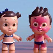 NIVEA Doll ensina as crianças a usar protetor solar