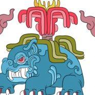 Ilustrações de mexicana misturam pokemons e referencias maias