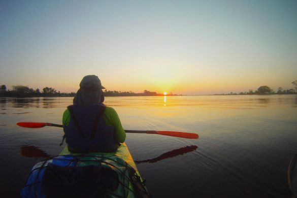 Essa foto, registra o nascer do sol no Paraná da Eva. Um dos registros da alvorada, feita pelo meu amigo Diego Moraes.