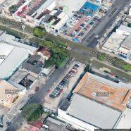 A Curva da Morte no bairro da Cachoeirinha em Manaus